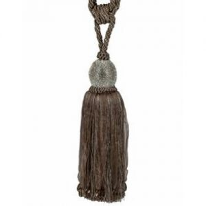 'Diamond' Ball Tassel/Taupe
