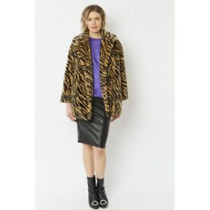 Faux Fur Coat/Tiger