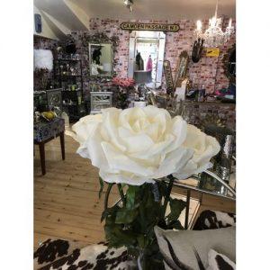 Silk Rose White