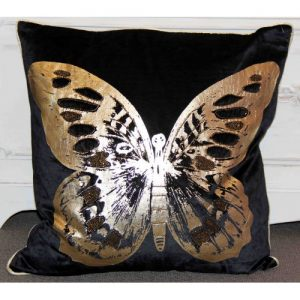 Butterfly Black/Gold