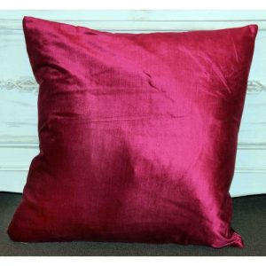 Velvet Cushion/Fuchsia