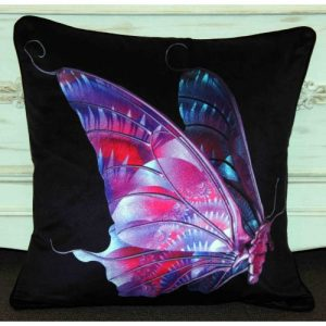 Butterfly – Fuchsia/Black