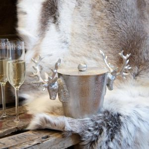 Stag Ice Bucket With Lid
