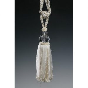 Tassel Tie-Back/Ivory