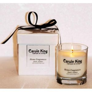 Dark Amber Perfumed Candle