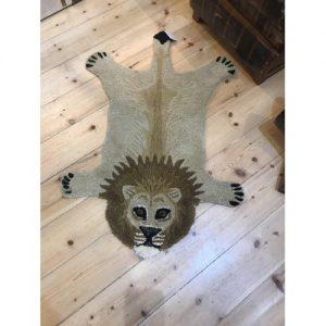 Wool Lion Rug