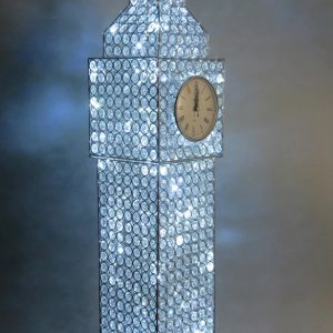 Big Ben LED crystal table lamp