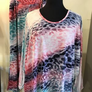 Silky jersey joggers and top/Multi