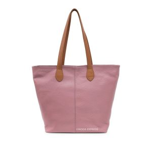 Leather tote bag/Rose