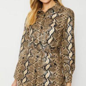 Faux snake jacket
